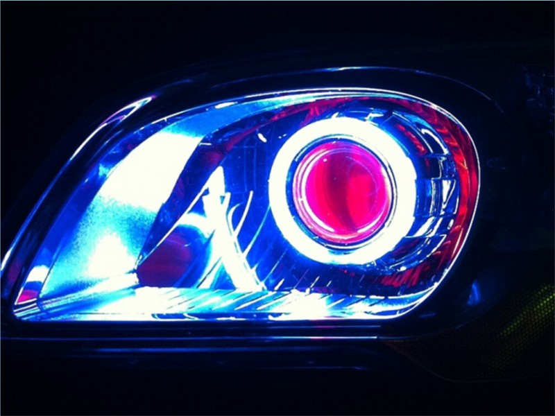 汽车车灯升级改装技术培训