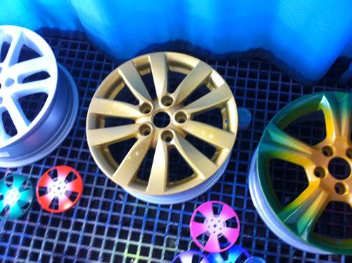 汽车轮毂修复翻新改色设备