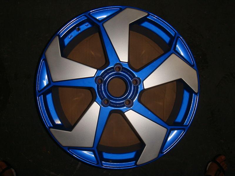 轮毂彩绘水槽