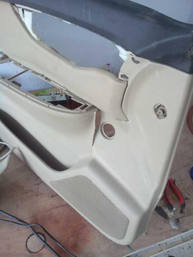 汽车塑料件保险杠修复设备修复展示 (9)