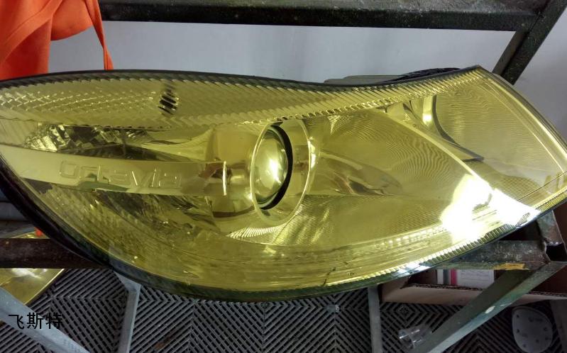 车灯改色黄色