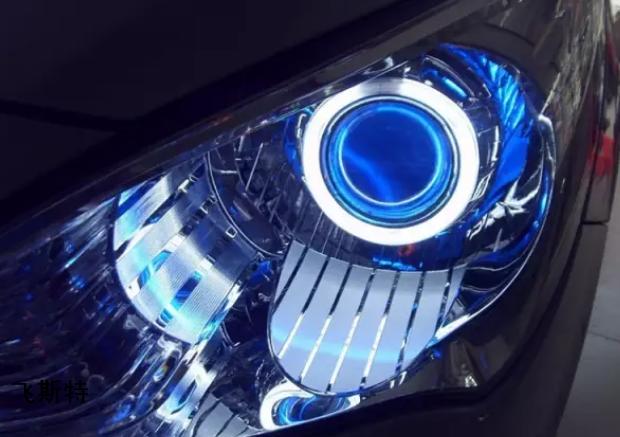 汽车车灯升级改装效果