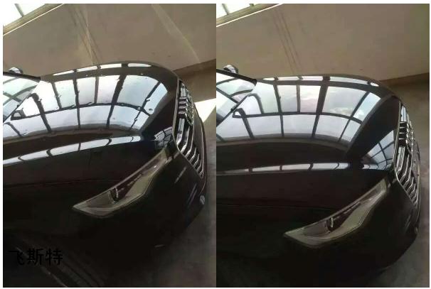 汽车凹陷修复效果对比