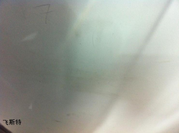 汽车挡风玻璃修复后