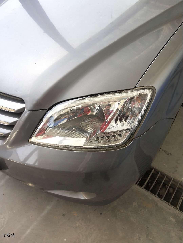 汽车车灯翻新修复前