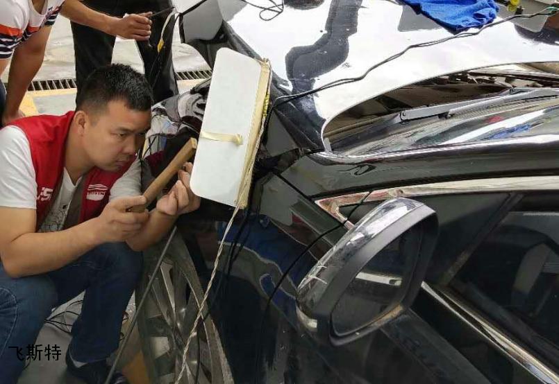 汽车无痕修复培训实车修复实践