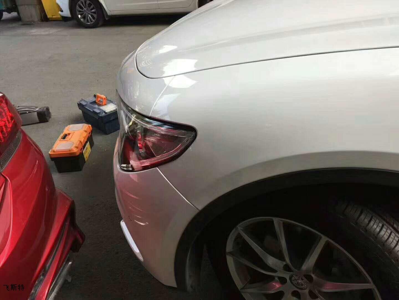 汽车车身凹坑修复效果