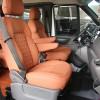 福特全顺内饰升级航空座椅电动沙发床游艇柚木地板,山东飞斯特专业改装